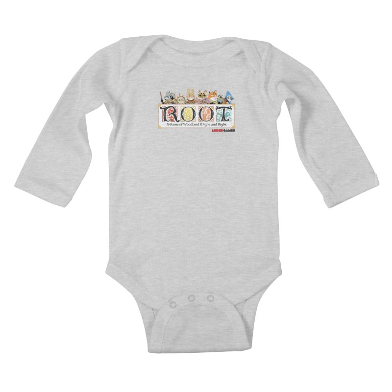 Root Logo - Full Color! Kids Baby Longsleeve Bodysuit by Kyle Ferrin's Artist Shop