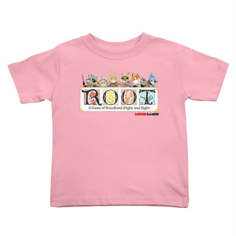 Root Logo - Full Color! Kids Toddler T-Shirt by Kyle Ferrin's Artist Shop