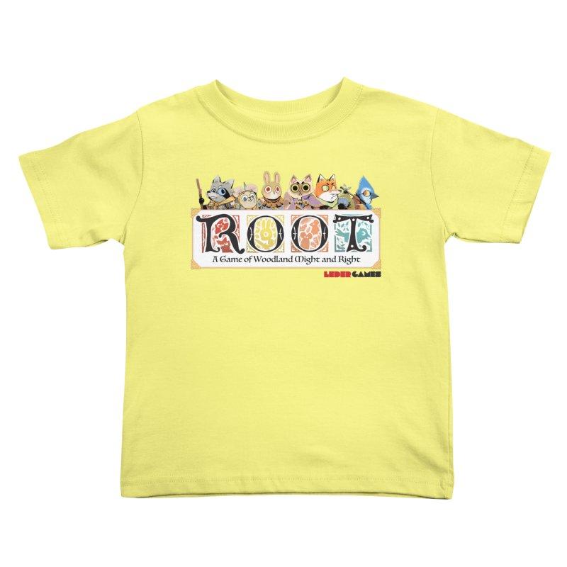 Root Logo - Full Color! Kids Toddler T-Shirt by Kyle Ferrin's Artist Shop