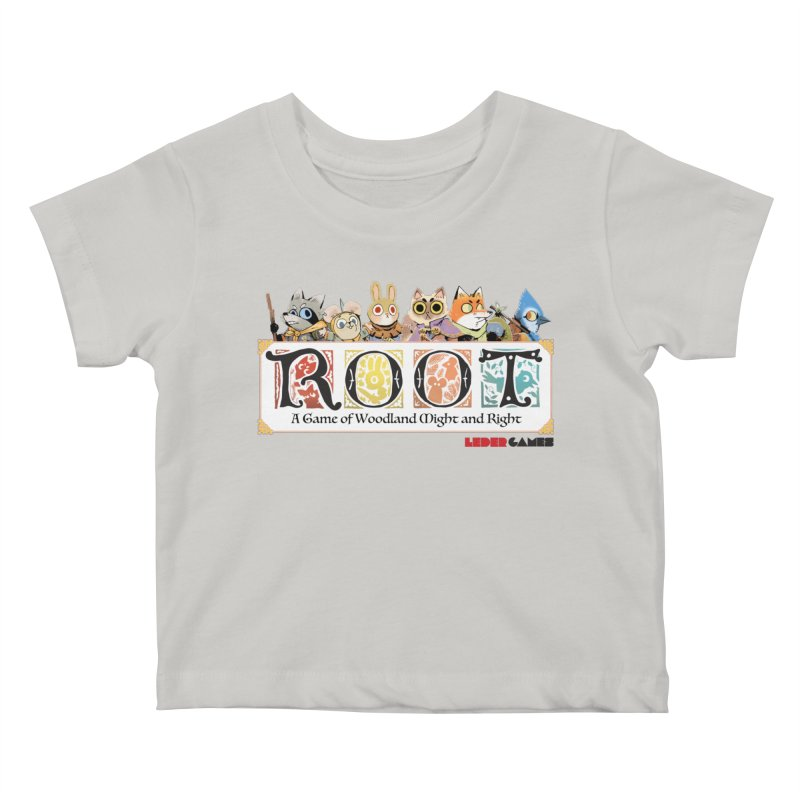Root Logo - Full Color! Kids Baby T-Shirt by Kyle Ferrin's Artist Shop