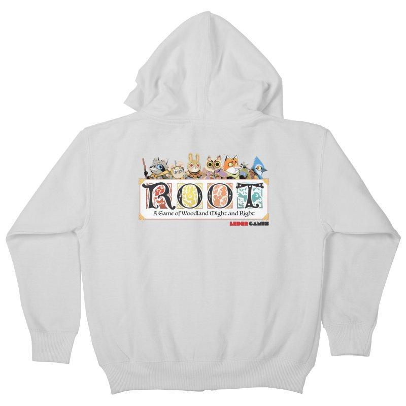 Root Logo - Full Color! Kids Zip-Up Hoody by Kyle Ferrin's Artist Shop