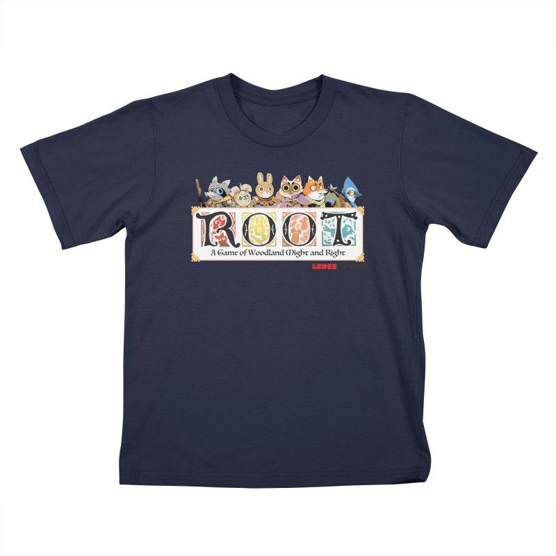 Root Logo - Full Color! Kids T-Shirt by Kyle Ferrin's Artist Shop