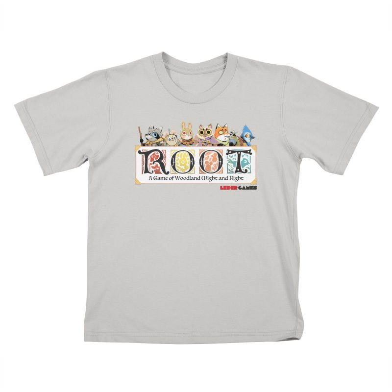 Root Logo - Full Color! Kids T-shirt by Kyle Ferrin's Artist Shop