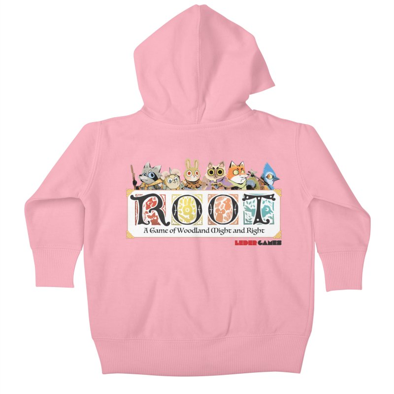 Root Logo - Full Color! Kids Baby Zip-Up Hoody by Kyle Ferrin's Artist Shop