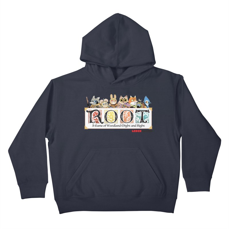 Root Logo - Full Color! Kids Pullover Hoody by Kyle Ferrin's Artist Shop