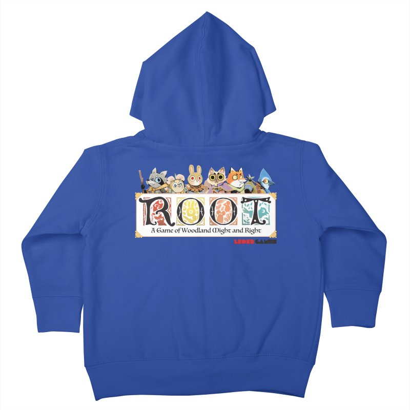 Root Logo - Full Color! Kids Toddler Zip-Up Hoody by Kyle Ferrin's Artist Shop