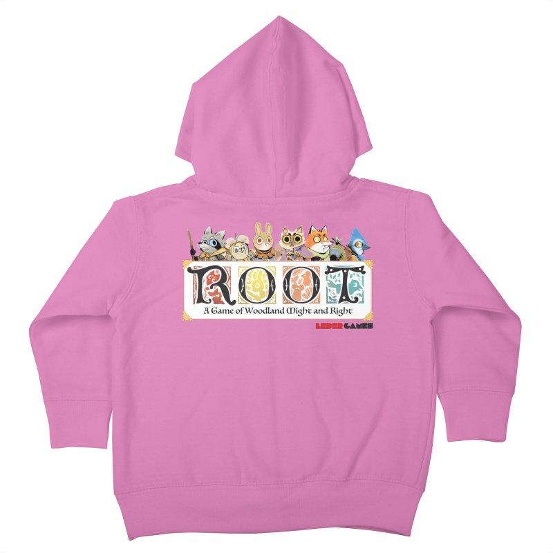 Root Logo - Full Color! Kids Toddler Zip-Up Hoody by Kyle Ferrin's Artist Shop
