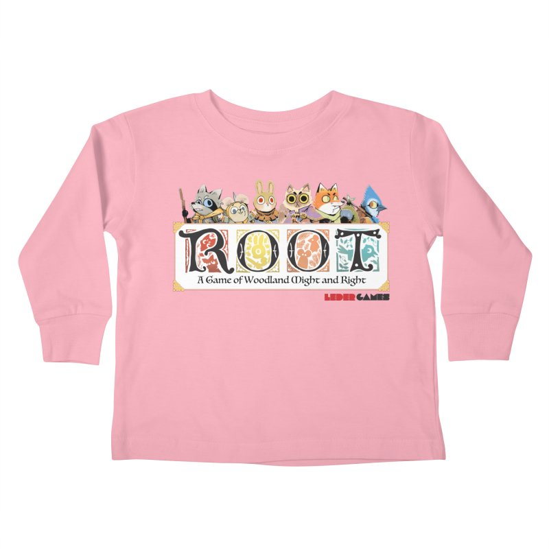 Root Logo - Full Color! Kids Toddler Longsleeve T-Shirt by Kyle Ferrin's Artist Shop