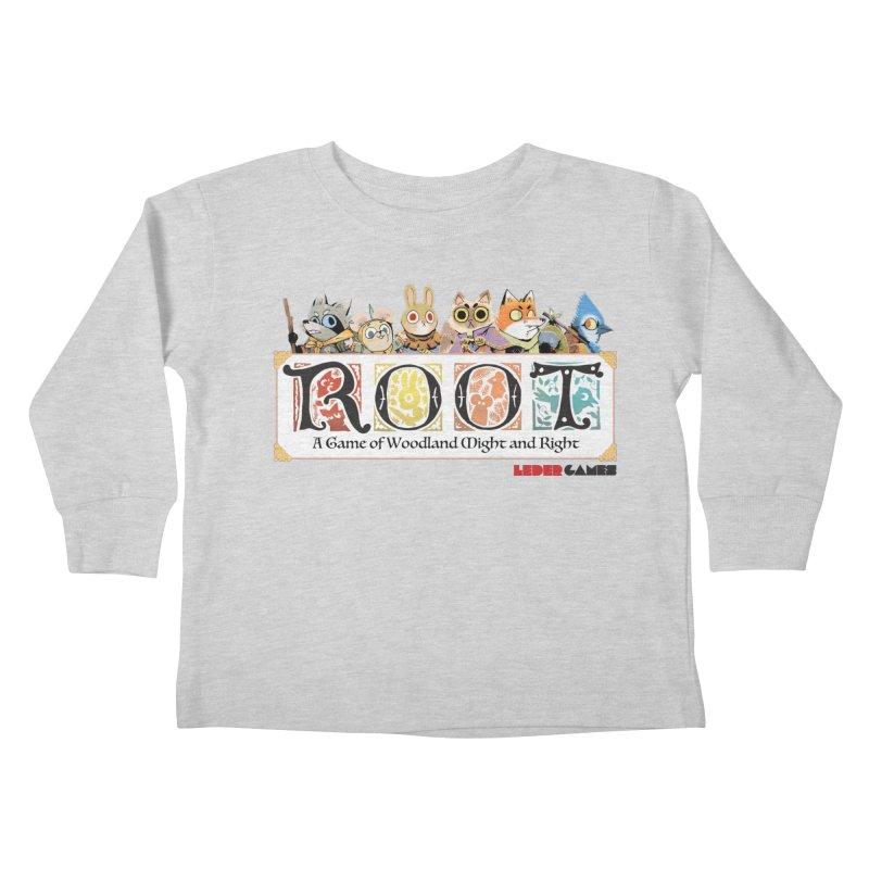 Root Logo - Full Color! Kids Toddler Longsleeve T-Shirt by Kyle Ferrin's Artist Shop