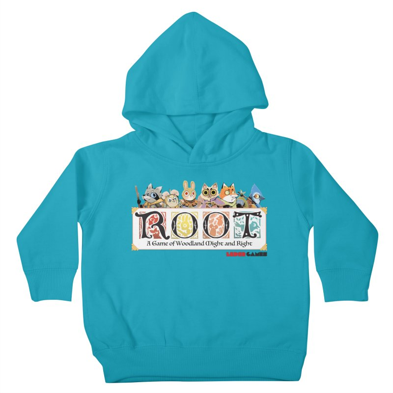 Root Logo - Full Color! Kids Toddler Pullover Hoody by Kyle Ferrin's Artist Shop