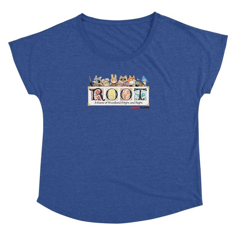 Root Logo - Full Color! Women's Dolman Scoop Neck by Kyle Ferrin's Artist Shop