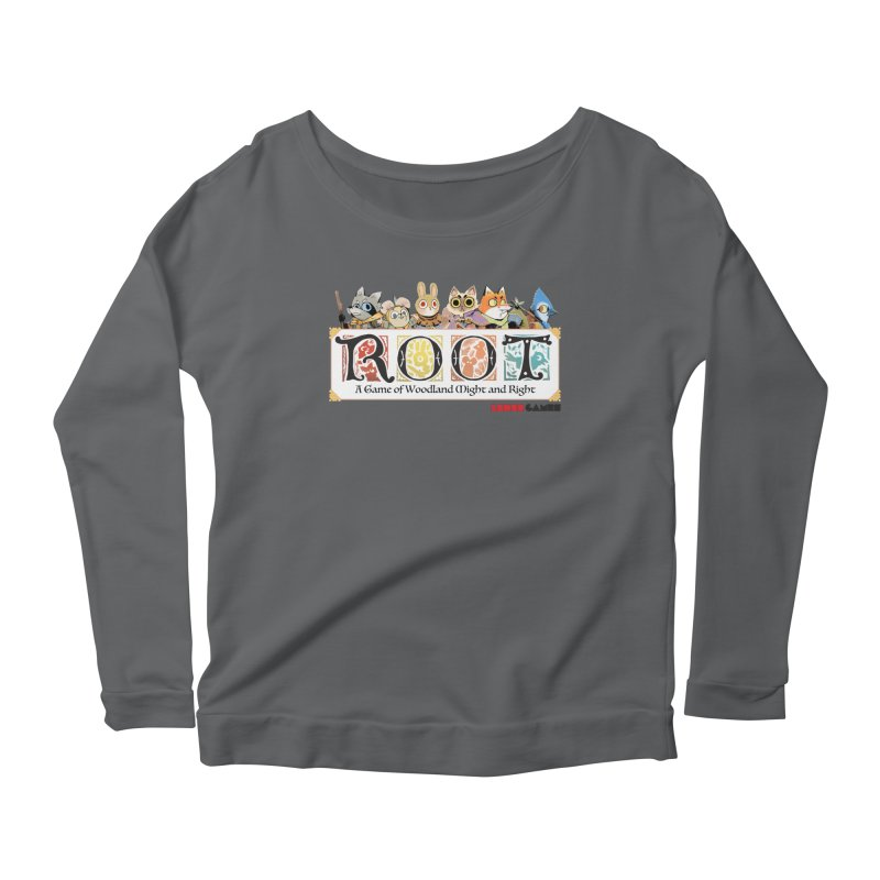 Root Logo - Full Color! Women's Scoop Neck Longsleeve T-Shirt by Kyle Ferrin's Artist Shop