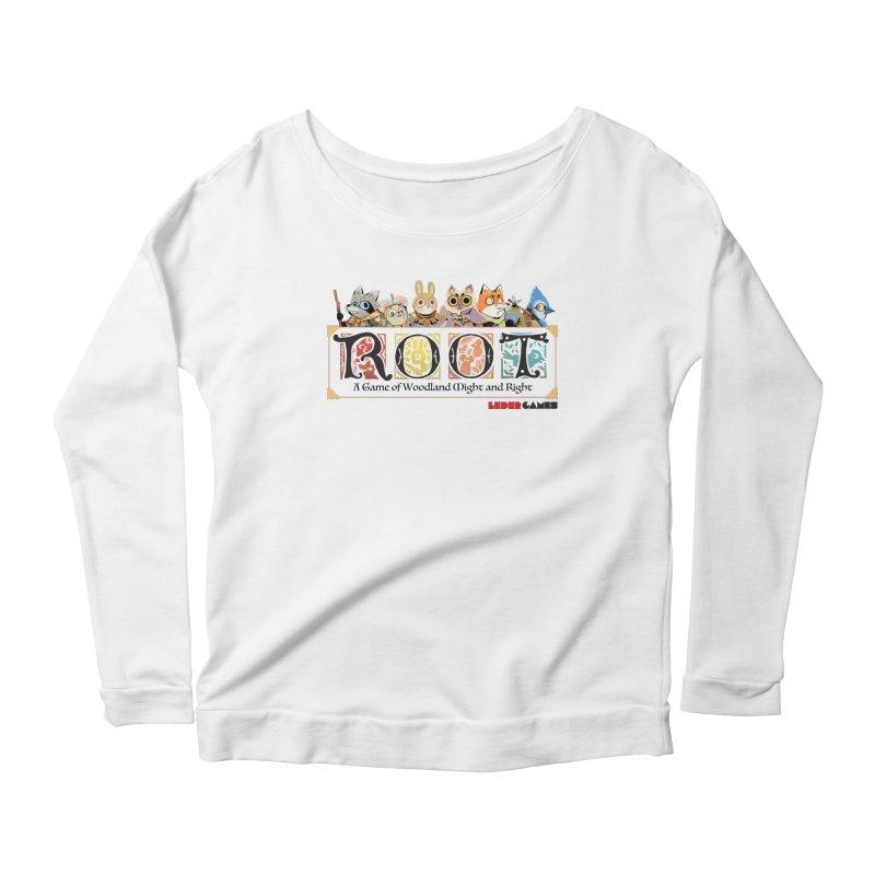 Root Logo - Full Color! Women's Longsleeve Scoopneck  by Kyle Ferrin's Artist Shop