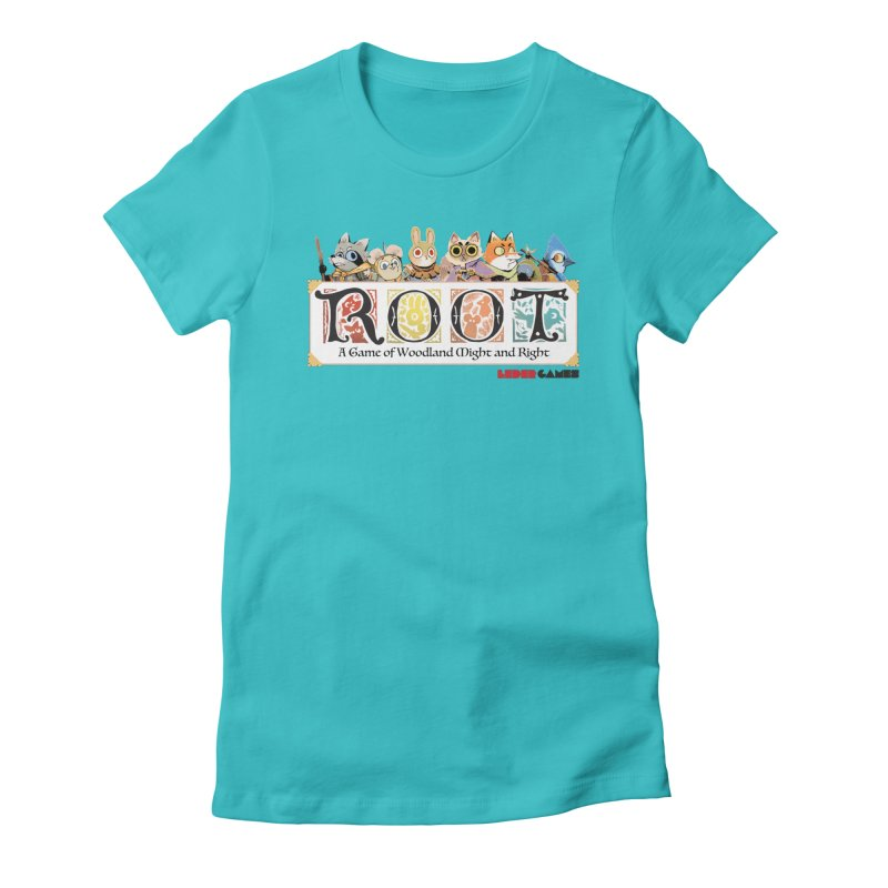 Root Logo - Full Color! Women's Fitted T-Shirt by Kyle Ferrin's Artist Shop