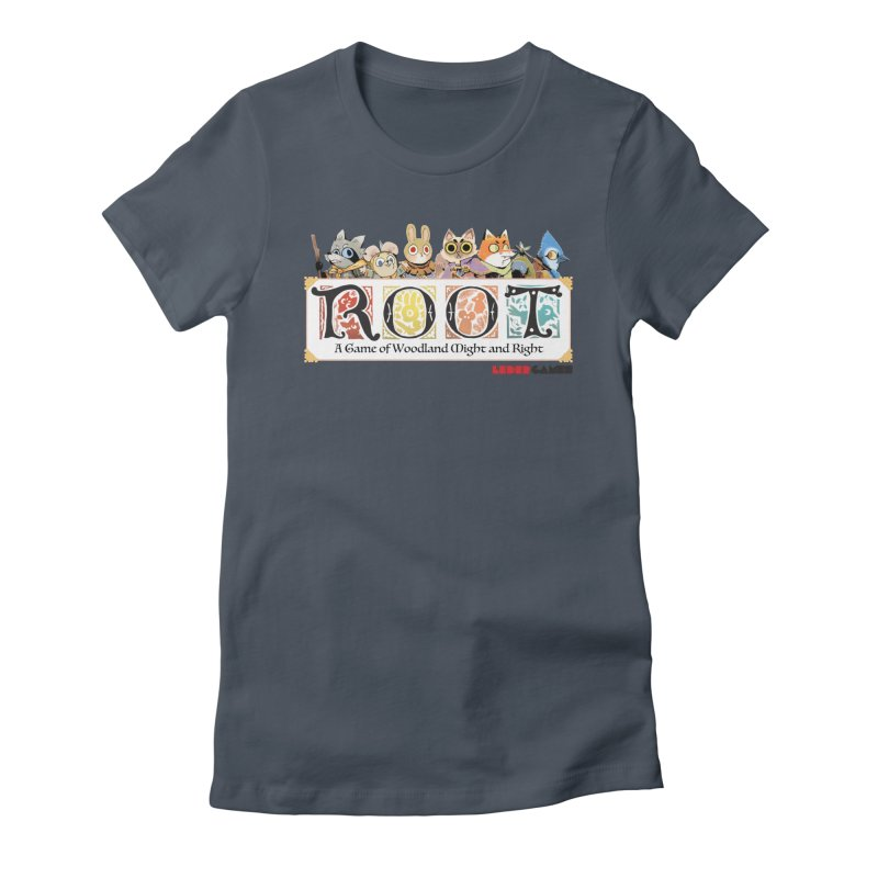 Root Logo - Full Color! Women's T-Shirt by Kyle Ferrin's Artist Shop