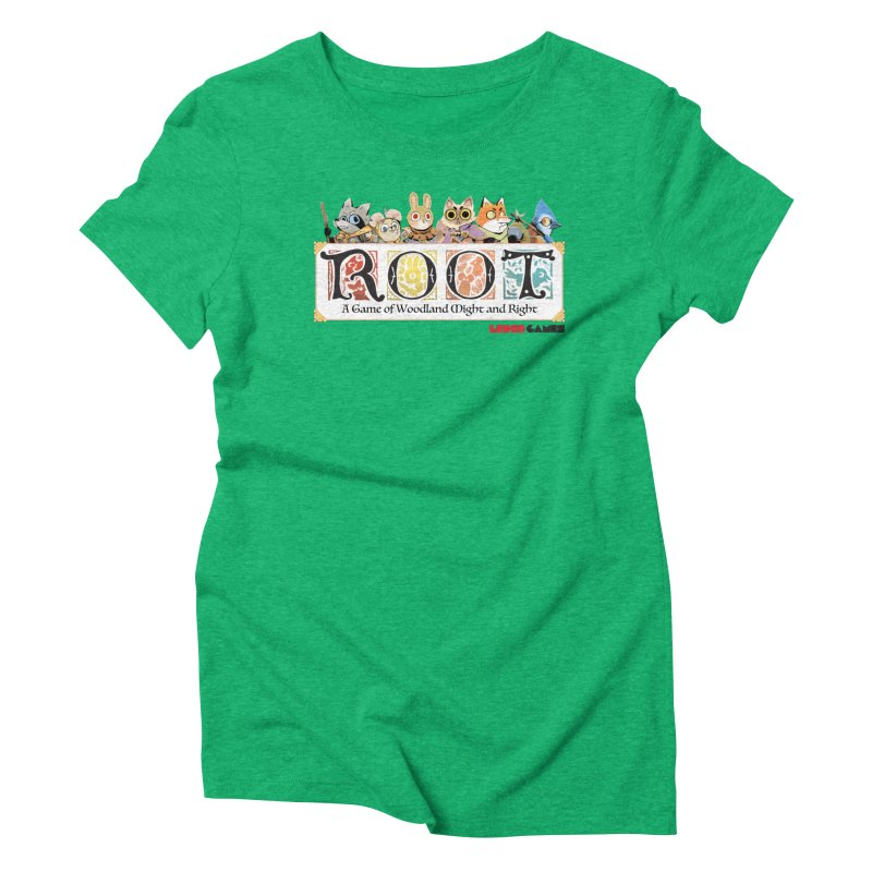Root Logo - Full Color! Women's Triblend T-Shirt by Kyle Ferrin's Artist Shop