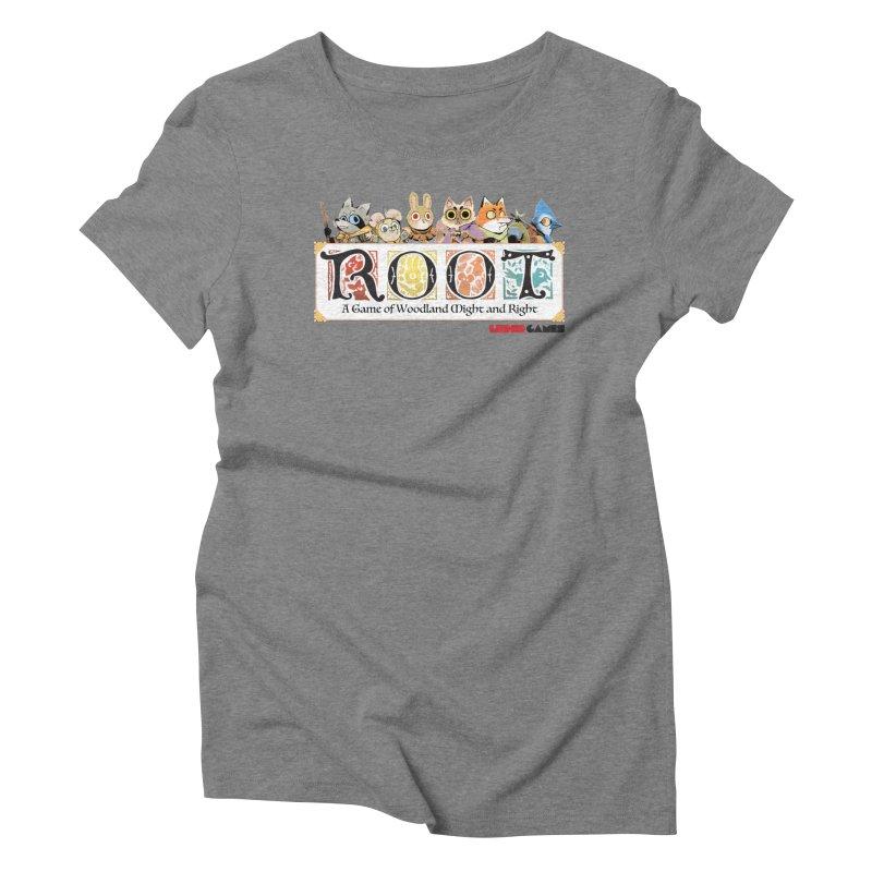 Root Logo - Full Color! Women's Triblend T-shirt by Kyle Ferrin's Artist Shop