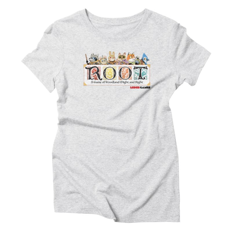 Root Logo - Full Color! Women's T-Shirt by Kyle Ferrin's Artist Shop