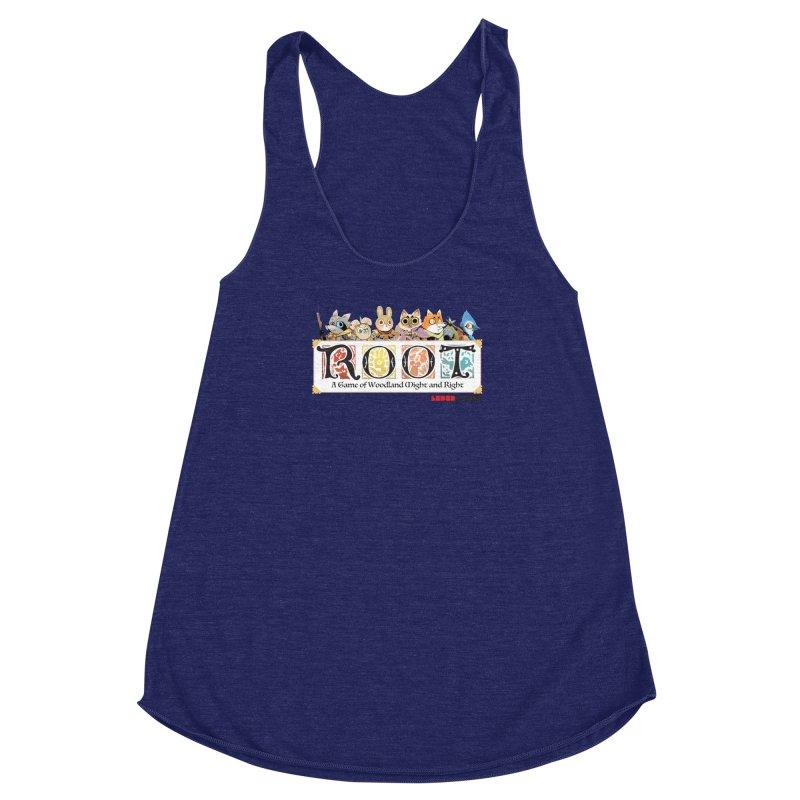 Root Logo - Full Color! Women's Racerback Triblend Tank by Kyle Ferrin's Artist Shop