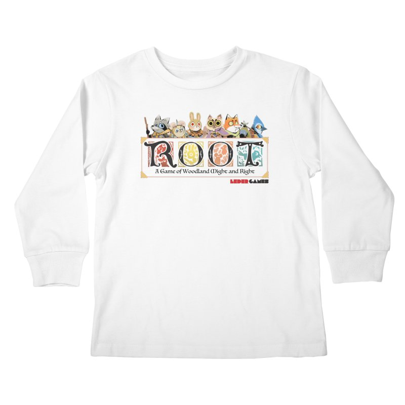 Root Logo - Full Color! Kids Longsleeve T-Shirt by Kyle Ferrin's Artist Shop