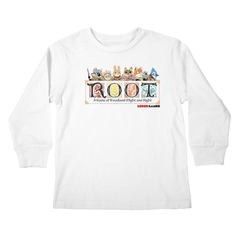 Root Logo - Full Color! Kids Longsleeve T-Shirt by Kyle Ferrin's Artist Shop