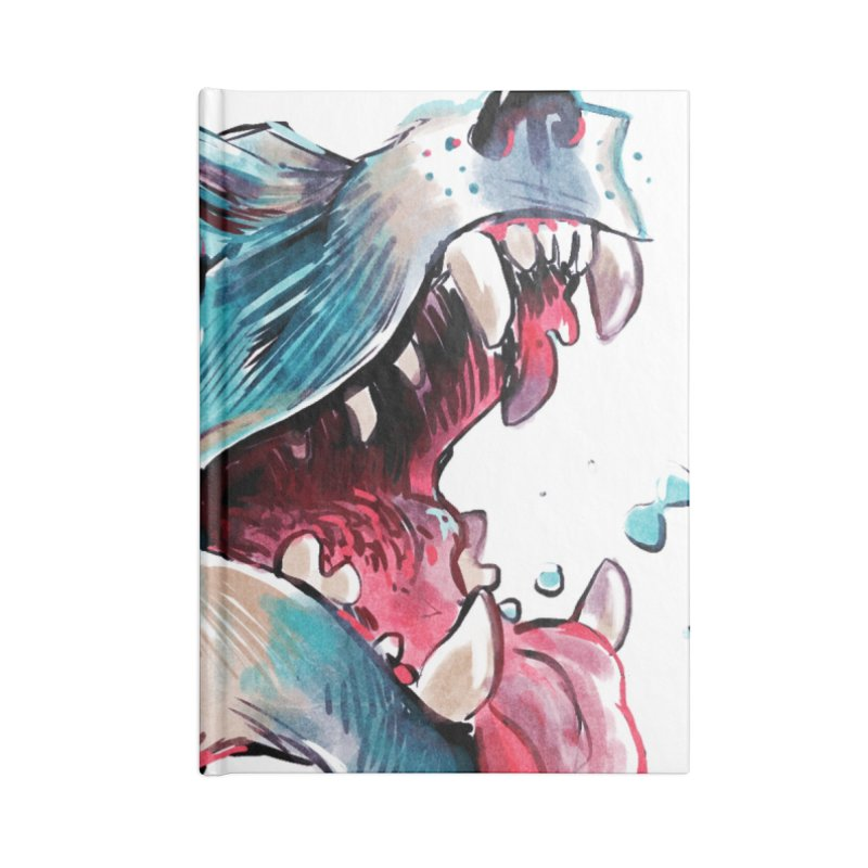 Weekend Wolf Accessories Notebook by Kyle Ferrin's Artist Shop