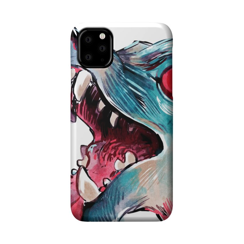 Weekend Wolf Accessories Phone Case by Kyle Ferrin's Artist Shop