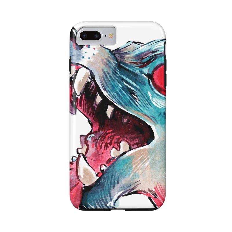 Weekend Wolf Accessories Phone Case by Kyle Ferrin's Artist Shop