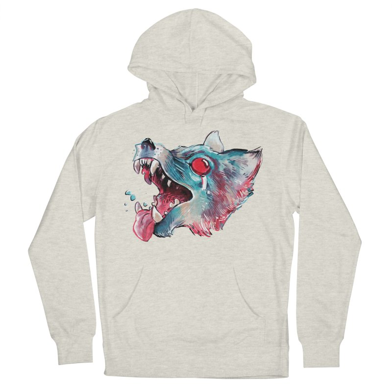 Weekend Wolf Women's Pullover Hoody by Kyle Ferrin's Artist Shop