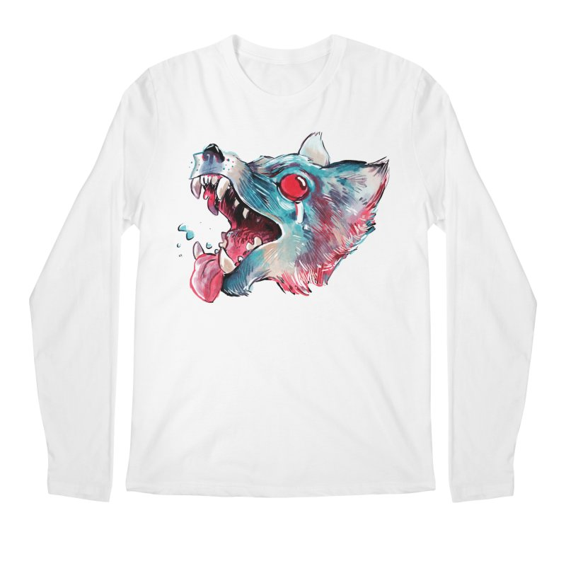 Weekend Wolf Men's Regular Longsleeve T-Shirt by Kyle Ferrin's Artist Shop