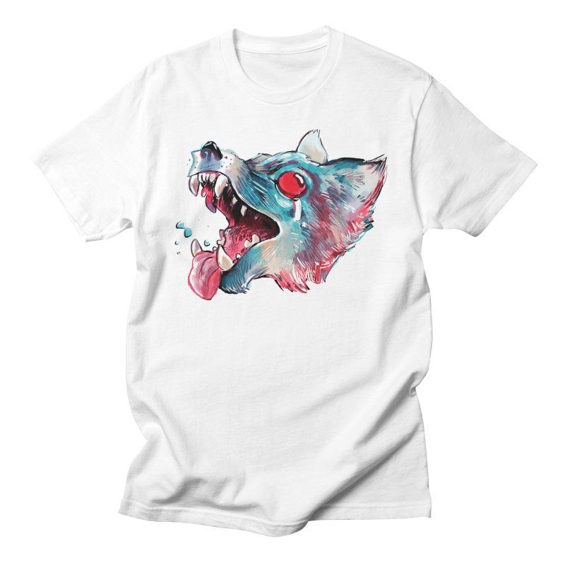 Weekend Wolf Men's T-Shirt by Kyle Ferrin's Artist Shop