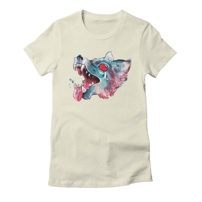 Weekend Wolf Women's T-Shirt by Kyle Ferrin's Artist Shop