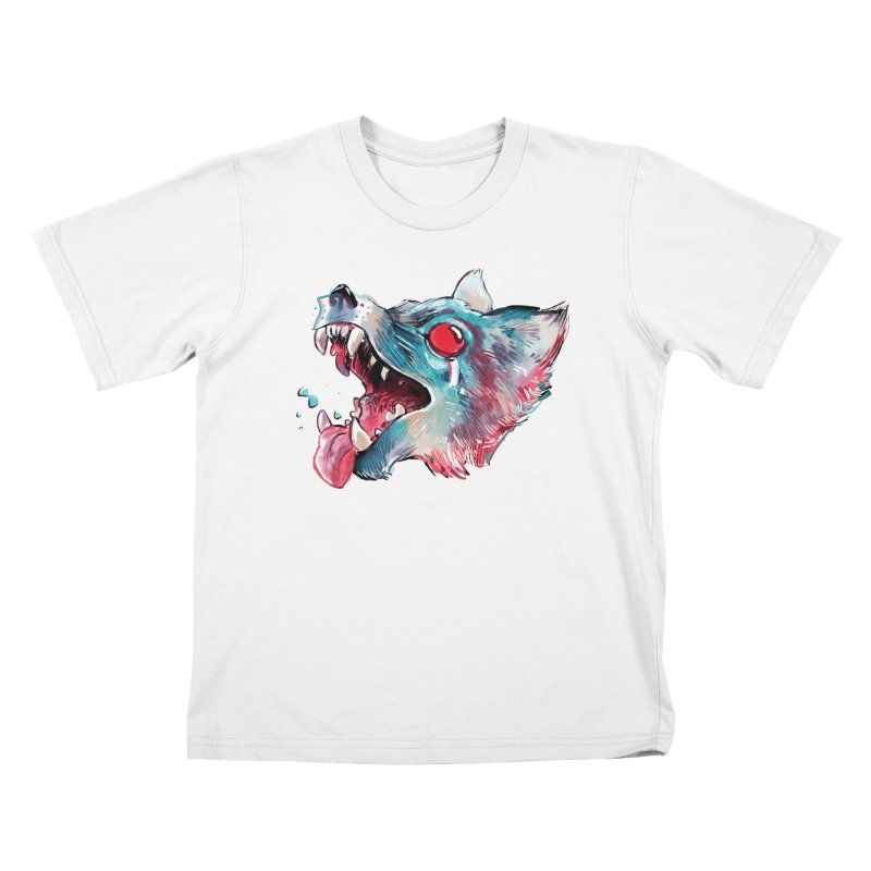 Weekend Wolf Kids Toddler T-Shirt by Kyle Ferrin's Artist Shop