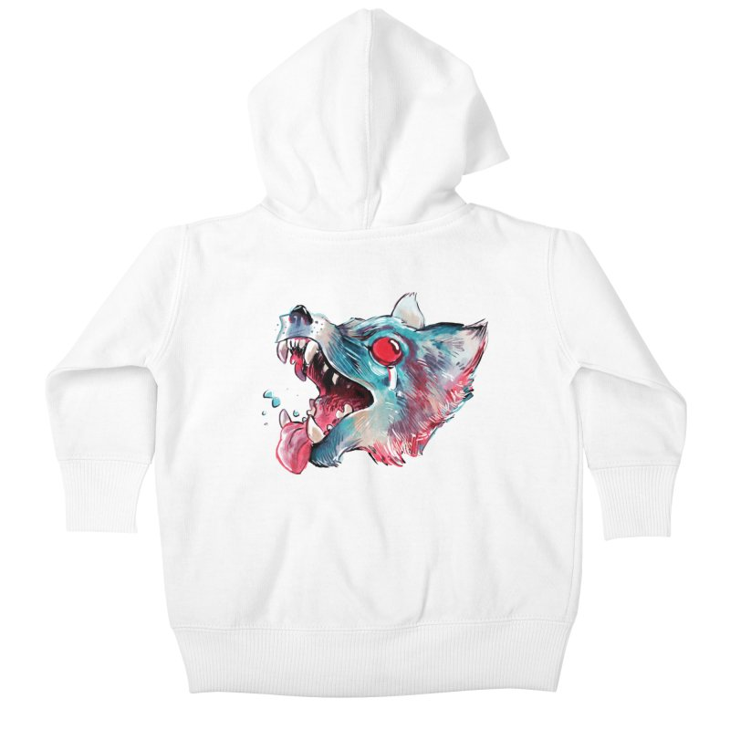 Weekend Wolf Kids Baby Zip-Up Hoody by Kyle Ferrin's Artist Shop