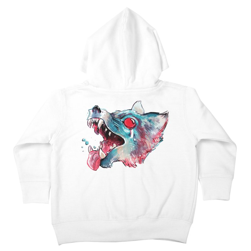 Weekend Wolf Kids Toddler Zip-Up Hoody by Kyle Ferrin's Artist Shop