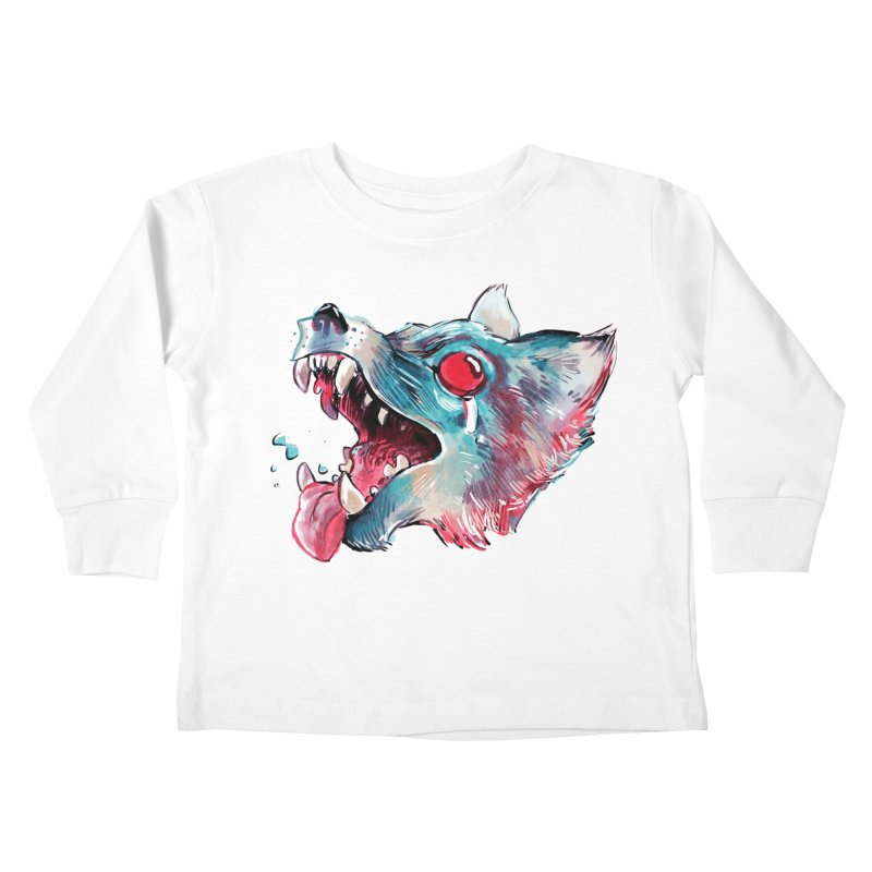 Weekend Wolf Kids Toddler Longsleeve T-Shirt by Kyle Ferrin's Artist Shop