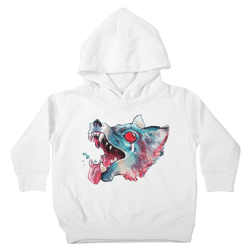 Weekend Wolf Kids Toddler Pullover Hoody by Kyle Ferrin's Artist Shop