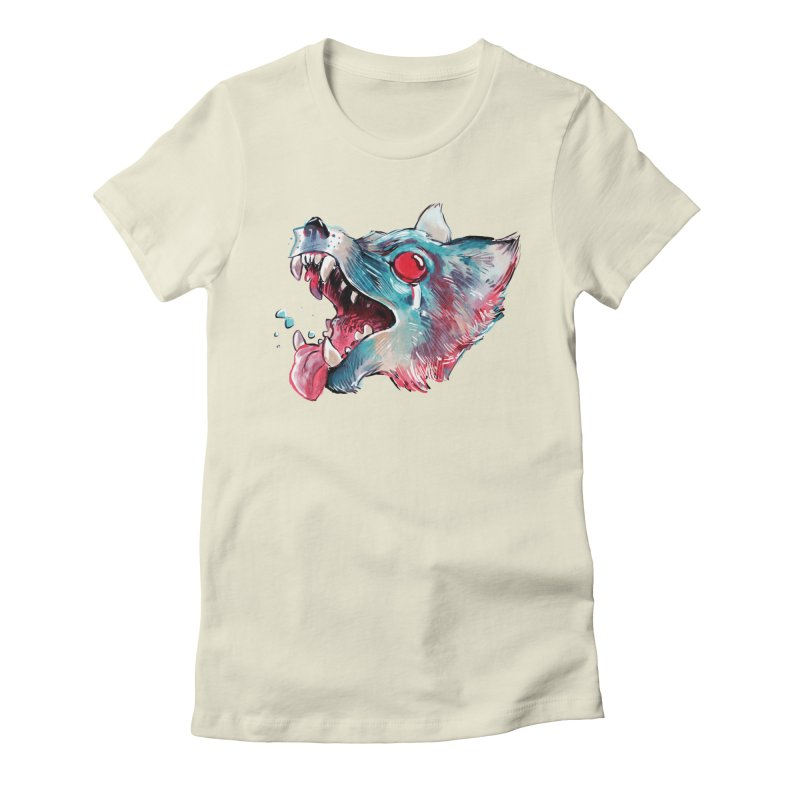 Weekend Wolf Women's T-Shirt by Kyle Ferrin's Artist Shop