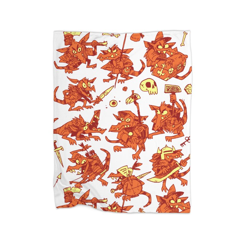 Kobold Party Home Blanket by Kyle Ferrin's Artist Shop