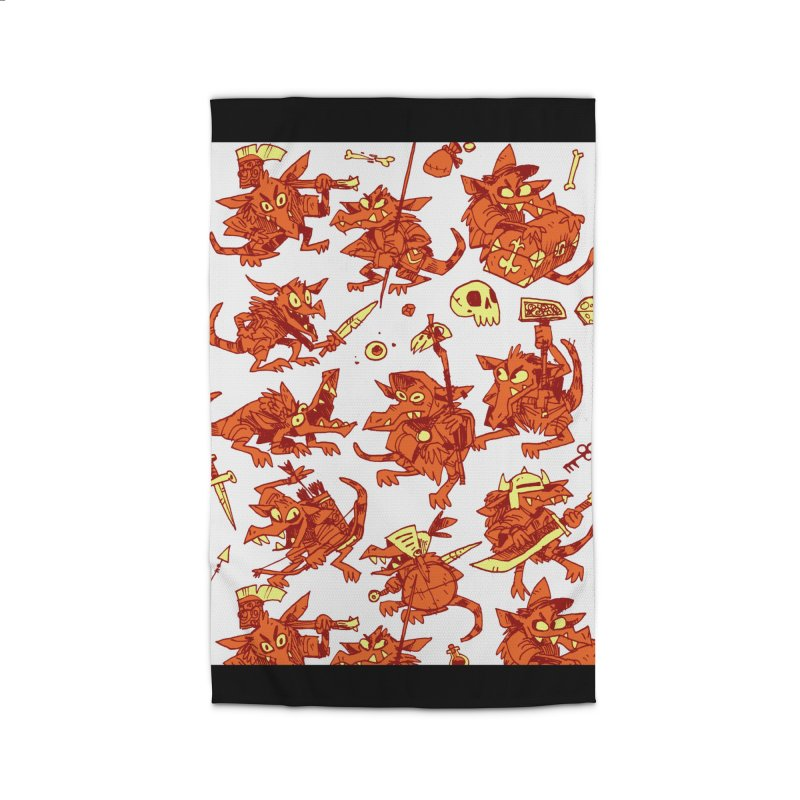 Kobold Party Home Rug by Kyle Ferrin's Artist Shop
