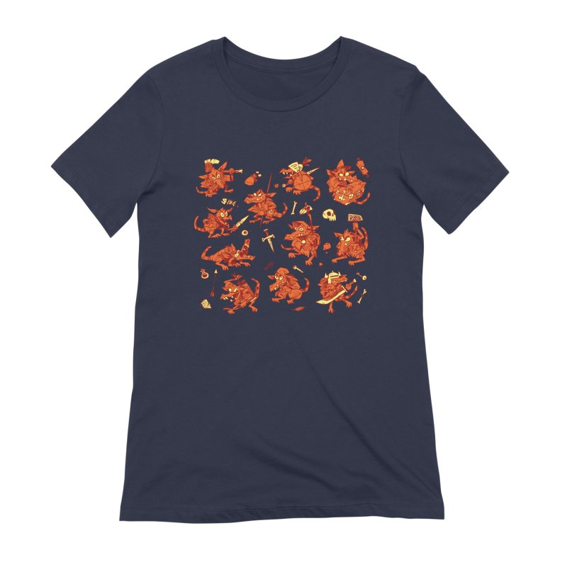 Kobold Party Women's Extra Soft T-Shirt by Kyle Ferrin's Artist Shop