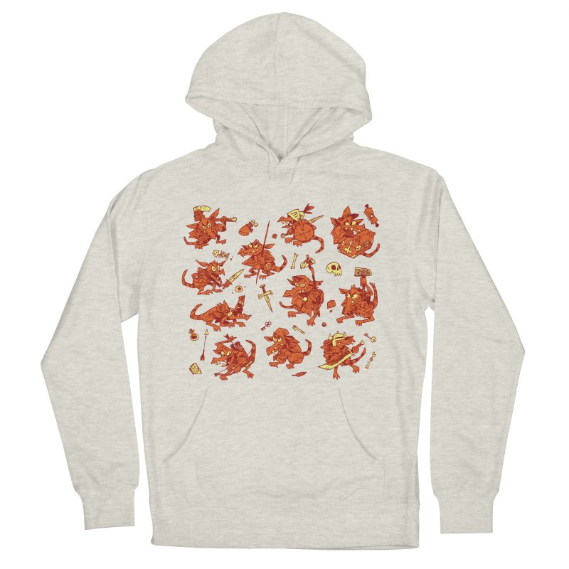 Kobold Party Men's French Terry Pullover Hoody by Kyle Ferrin's Artist Shop