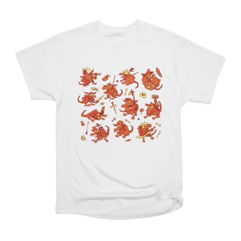 Kobold Party Men's Heavyweight T-Shirt by Kyle Ferrin's Artist Shop