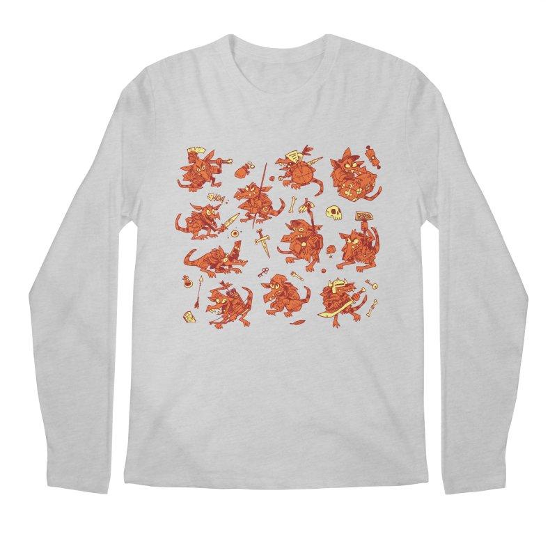 Kobold Party Men's Regular Longsleeve T-Shirt by Kyle Ferrin's Artist Shop
