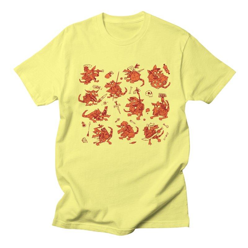 Kobold Party Men's Regular T-Shirt by Kyle Ferrin's Artist Shop