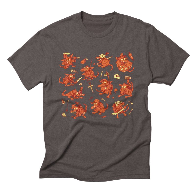 Kobold Party Men's Triblend T-Shirt by Kyle Ferrin's Artist Shop