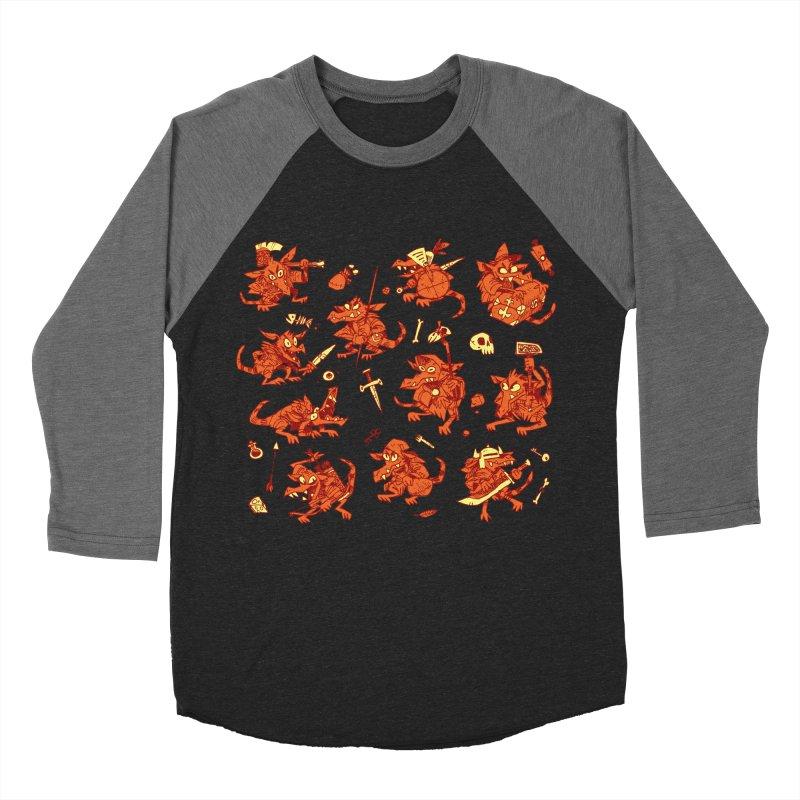 Kobold Party Men's Baseball Triblend Longsleeve T-Shirt by Kyle Ferrin's Artist Shop