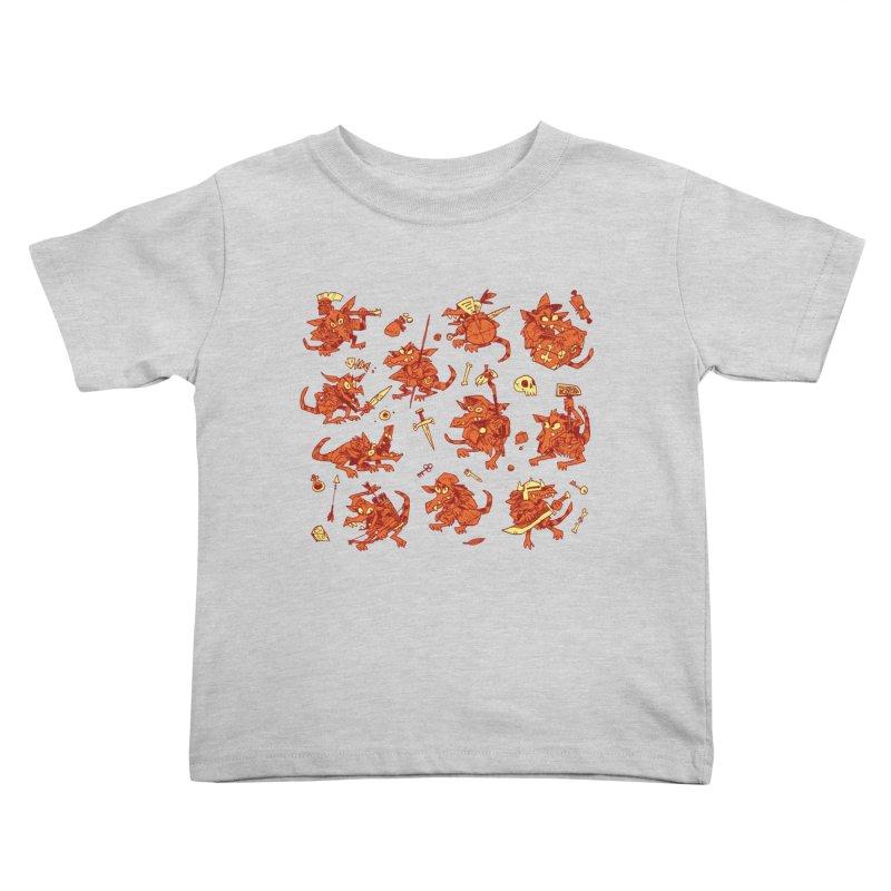 Kobold Party Kids Toddler T-Shirt by Kyle Ferrin's Artist Shop