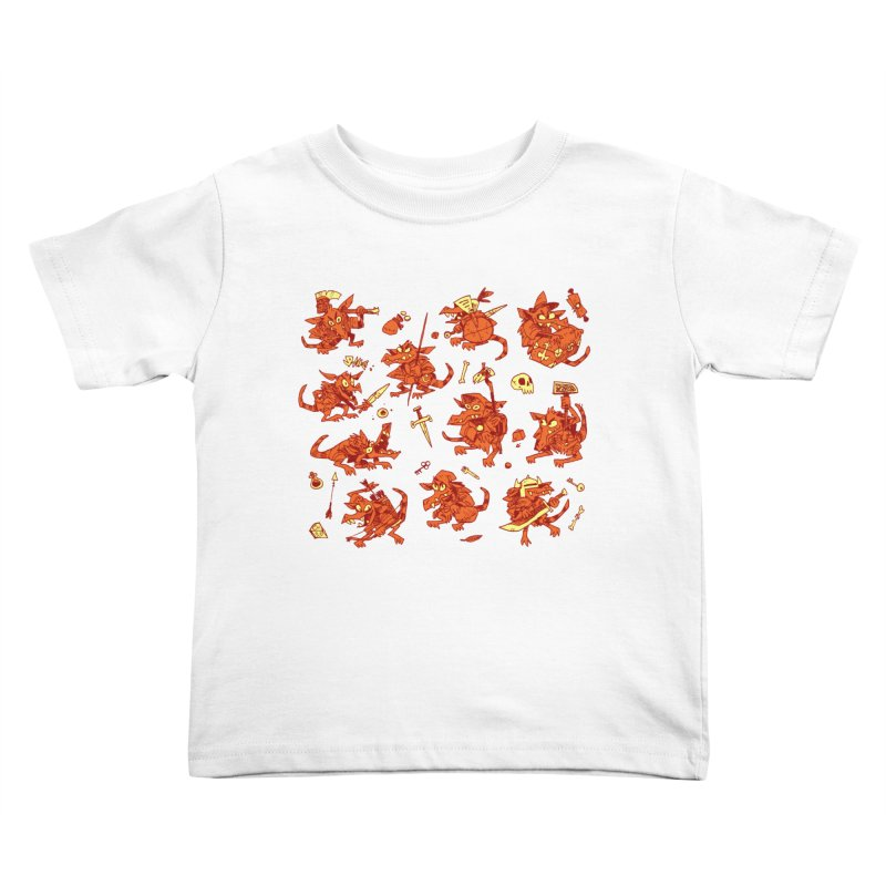 Kobold Party Kids Toddler T-Shirt by Kyle Ferrin's Artist Shop
