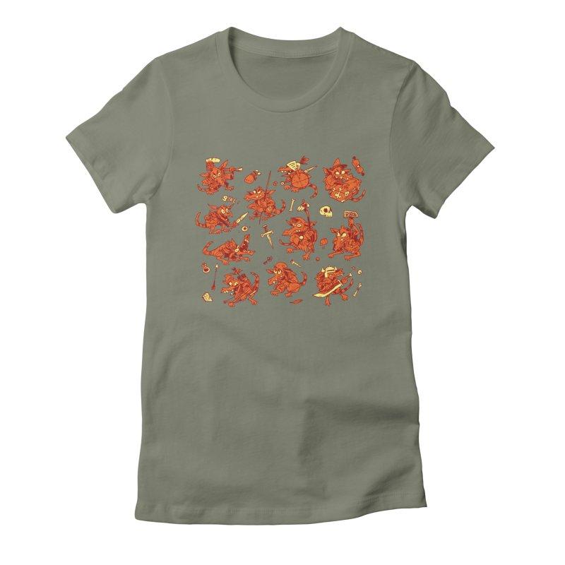 Kobold Party Women's T-Shirt by Kyle Ferrin's Artist Shop